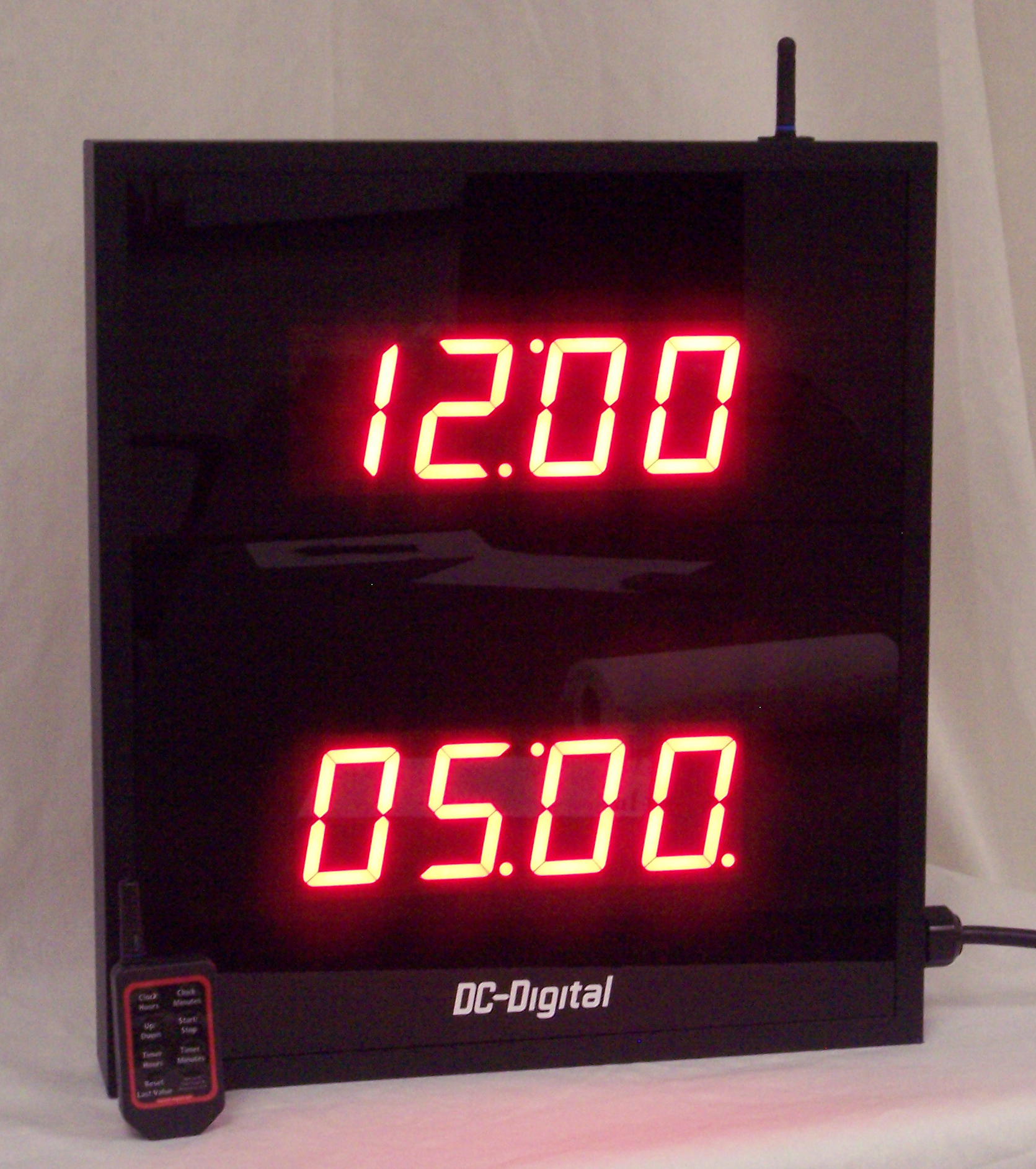 DC-2508 Digital Clock and count up and countdown timer