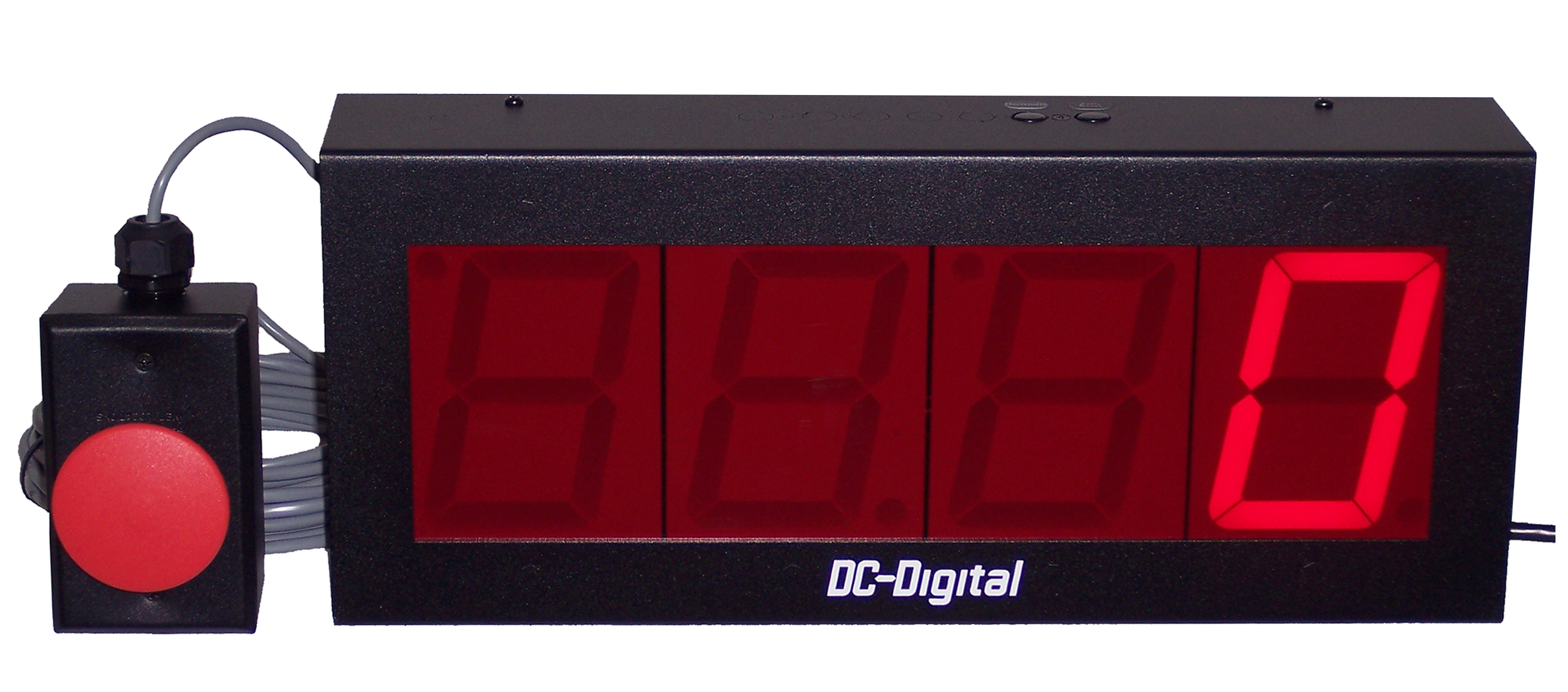 DC-40C 4 inch digital counter with large remote increment