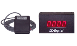 Countdown timer set and forget technology BCD with foot switch activation