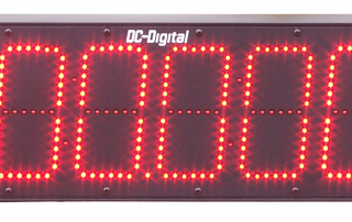 DC-Digital can Display thousandths of a second