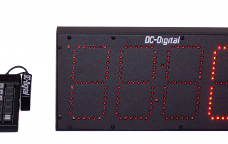 Production Interval Pace Counter Timer with Keypad input