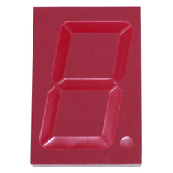 (DC-25-Display) 7 Segment High Intensity Red LED Display, 2.3 Inch, Common Cathode