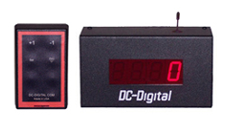 (DC-10C-W) 1.0 Inch LED Digital, RF Wireless Handheld Controlled, Counter