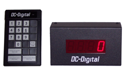 (DC-10C-Term-Key-Pace) 1.0 Inch LED Digital Production Pace Timer-Counter with 24 Keypad Programmer and Controller