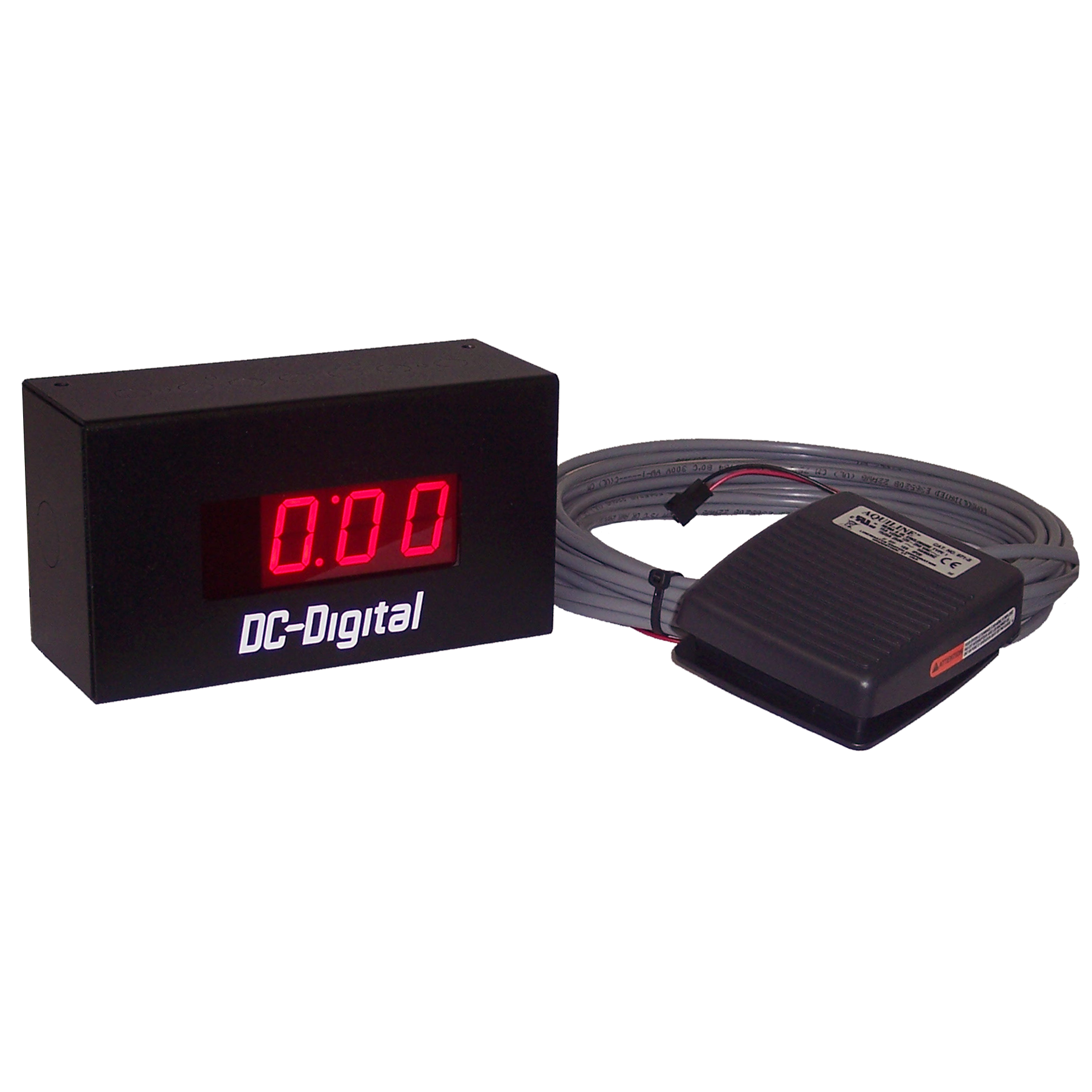 DC-10T-DN-Hand-Foot activated hand washing timer with LED display