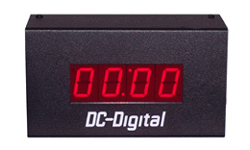 (DC-10T-UP-TERM) 1.0 Inch LED Digital, Multi-Input (PLC-Relay-Switch-Sensor) Controlled, Count Up Timer, Shift Digit Technology