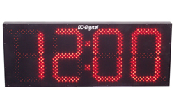 (DC-150N-WIFI-IN) WIFI Network Sync., Digital Clock, 15 Inch Digits (INDOOR)