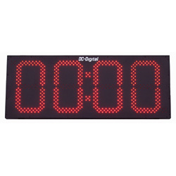 15 Inch 4 Digit Count up Countdown digital timer outdoor