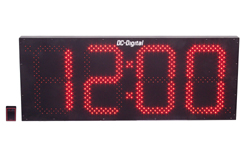 DC-150S-W-Wireless-Digital-LED Clock-Outdoor-Wall-15-Inch