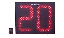 (DC-152C-W) Customer Now Serving LED Electronic Digital Counter, Wireless Controlled, 15 Inch Digits (OUTDOOR)