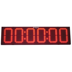 15 Inch Count up Countdown digital timer outdoor display