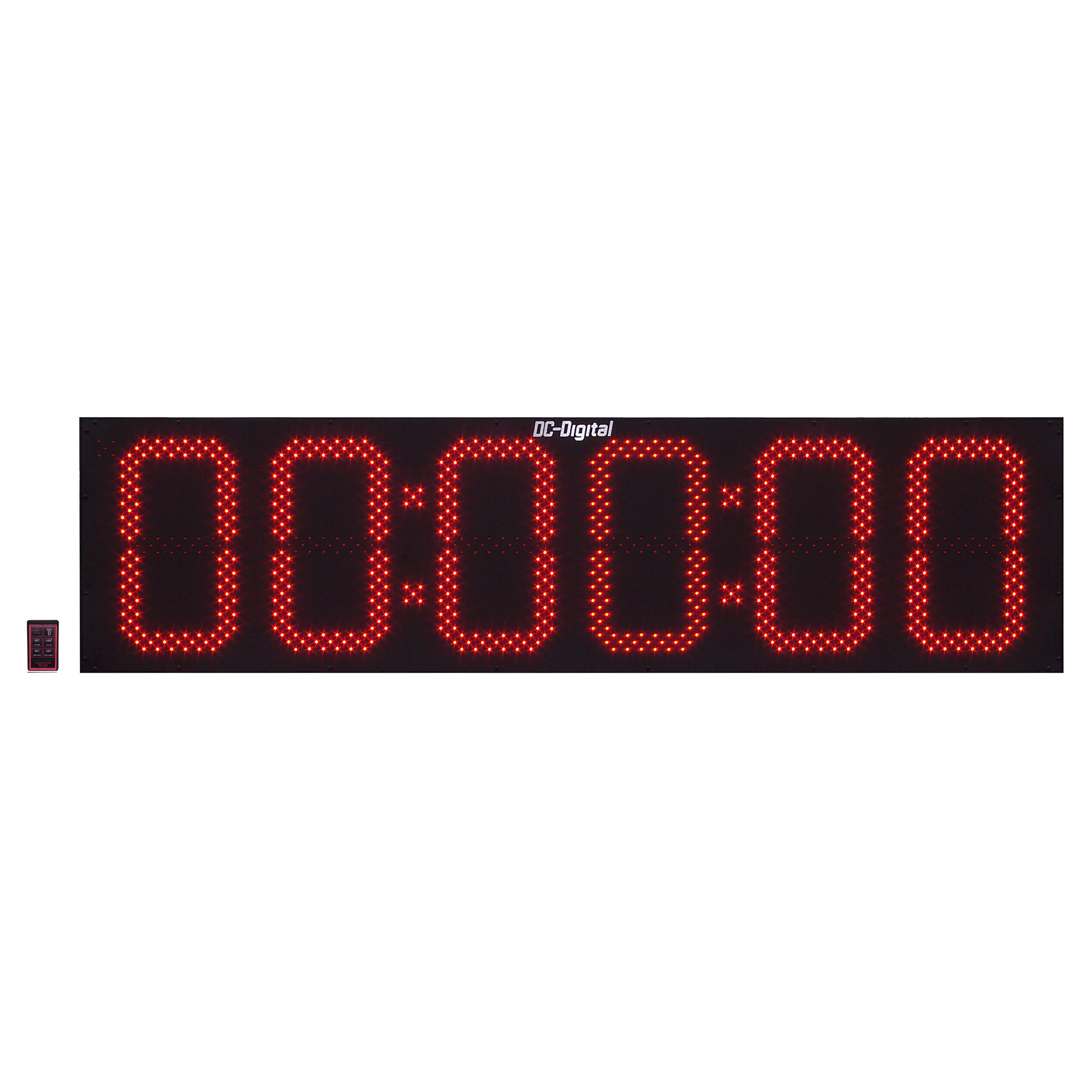 Dc 156t Dn W Rf Wireless Remote Controlled Digital Countdown Timer 15 Inch Digits Hours Minutes Seconds Outdoor