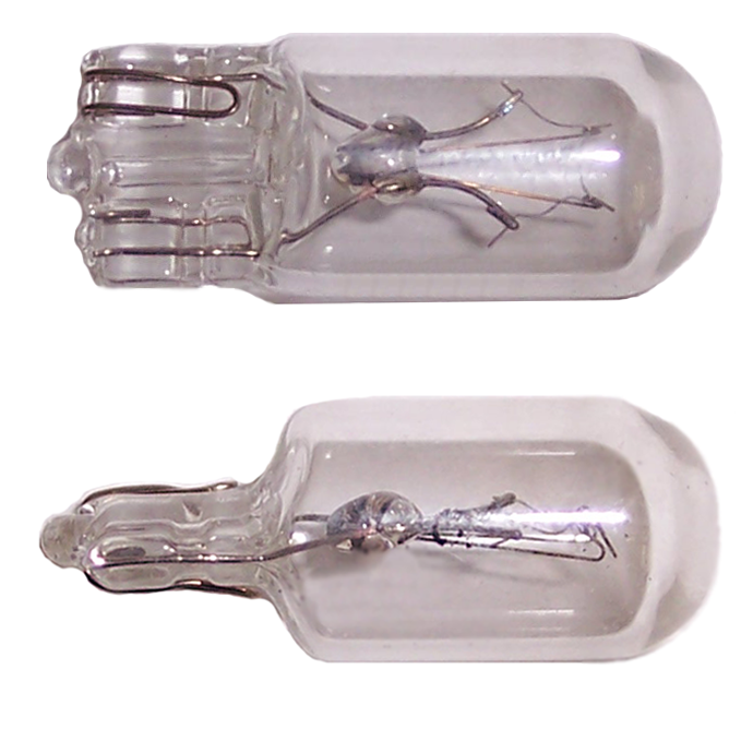 (DC-161) Fair-play Incandescent Miniature Wedge Light Bulbs (10-Pack)