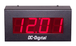 DC-25-1201-Rauland-System-Clock-2-Wire-2.3-Inch-Digit