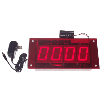 (DC-25-OEM-Days) Electronic Days Without an Accident Display, Sign Mountable Complete, LED Digital Days Timer-Clock, Push-Button Set, 2.3 Inch Digits (Everything you need to install into your signage)