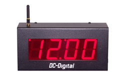 DC-25-W-Digital-LED-RF-Wireless-Controlled-System-Clock