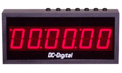 DC-256UT-Push-Button-Controlled-Countdown-Count-Up-Timer-Clock-2.3-Inch-Digits
