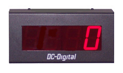 (DC-25C-Term) 2.3 Inch LED Digital Multi-Input Counter that accepts: PLC, Relay, Switch and Sensor Input Controls