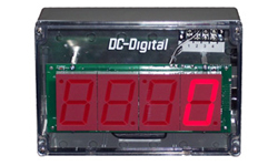 (DC-25C-Term-NEMA) 2.3 Inch LED Digital, Multi-Input, NEMA 4X Enclosed, Counter that accepts: PLC, Relay, Switch and Sensor Input Controls