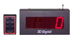 (DC-25C-W) 2.3 Inch LED Digital, RF Wireless Handheld Controlled, Counter