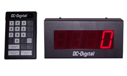 (DC-25C-Term-Key-Pace) 2.3 Inch LED Digital Production Pace Timer-Counter with 24 Keypad Programmer and Controller