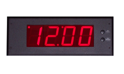 DC-25F-Flush Mount-Vehicle-Digital-LED-Clock