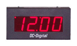 DC-25N-Network-NTP-Ethernet-Atomic Wall-Clock-2.3-Inch-Digit-PP
