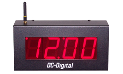 DC-25N-W-Master-Network-Sync-Wireless-Output-Clock-2.3-Inch-PP