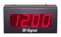 DC-25S-Standalone-Push-button-Digital clock-2.3-Inch-Digit