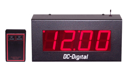 DC-25S-W-Wireless-Controlled-Stand-alone Clock-2.3-Inch-Digit