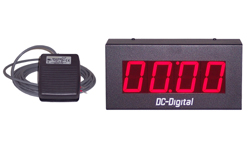 DC-25T-UP-Foot-Switch-Control-Digital-Count-UP-Timer-2.3-Inch-Digits