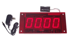 (DC-25-OEM) Sign Ready, LED Electronic Digital, Multi-Function, Timer-Clock-Counter-Display, 2.3 Inch Digits (Everything you need to install into your signage)