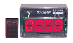 DC-25T-Up-W-Nema-4X-RF-Wireless-Remote-Count-up-Timer-2.3-Inch-Digits