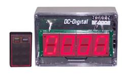 (DC-25T-UP-W-Nema) RF Wireless Remote Controlled, Digital Count Up Timer-Clock, 2.3 Inch Digits, Nema 4X Enclosure