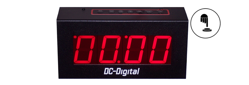 DC-25UT-Push-Button-Countdown-Count-Up-Timer-Clock-2.3-Inch-Digits-HP