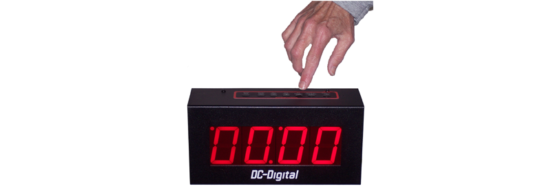 DC-25UT-Push-Button-Countdown-Count-Up-Timer-Clock-2.3-Inch-Digits-LP2