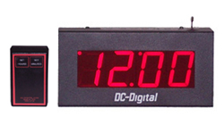 DC-25W-4W-Master-Wireless-Set-Wired-Output-Clock-2.3-Inch-PP