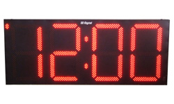 (DC-300-GPS) 30.0 Inch LED Digit, GPS Receiver Synchronization, Atomic Time of Day Digital Clock (OUTDOOR)