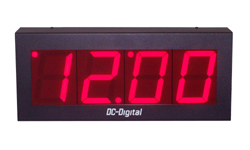 DC-40-4W-System-4-Wire-Sync-System-Clock-4-Inch-Digit-PP