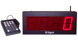 DC-40-Static-Key-W-Wireless-Keypad-Controlled-Static-Number-Display-4-inch-Digits
