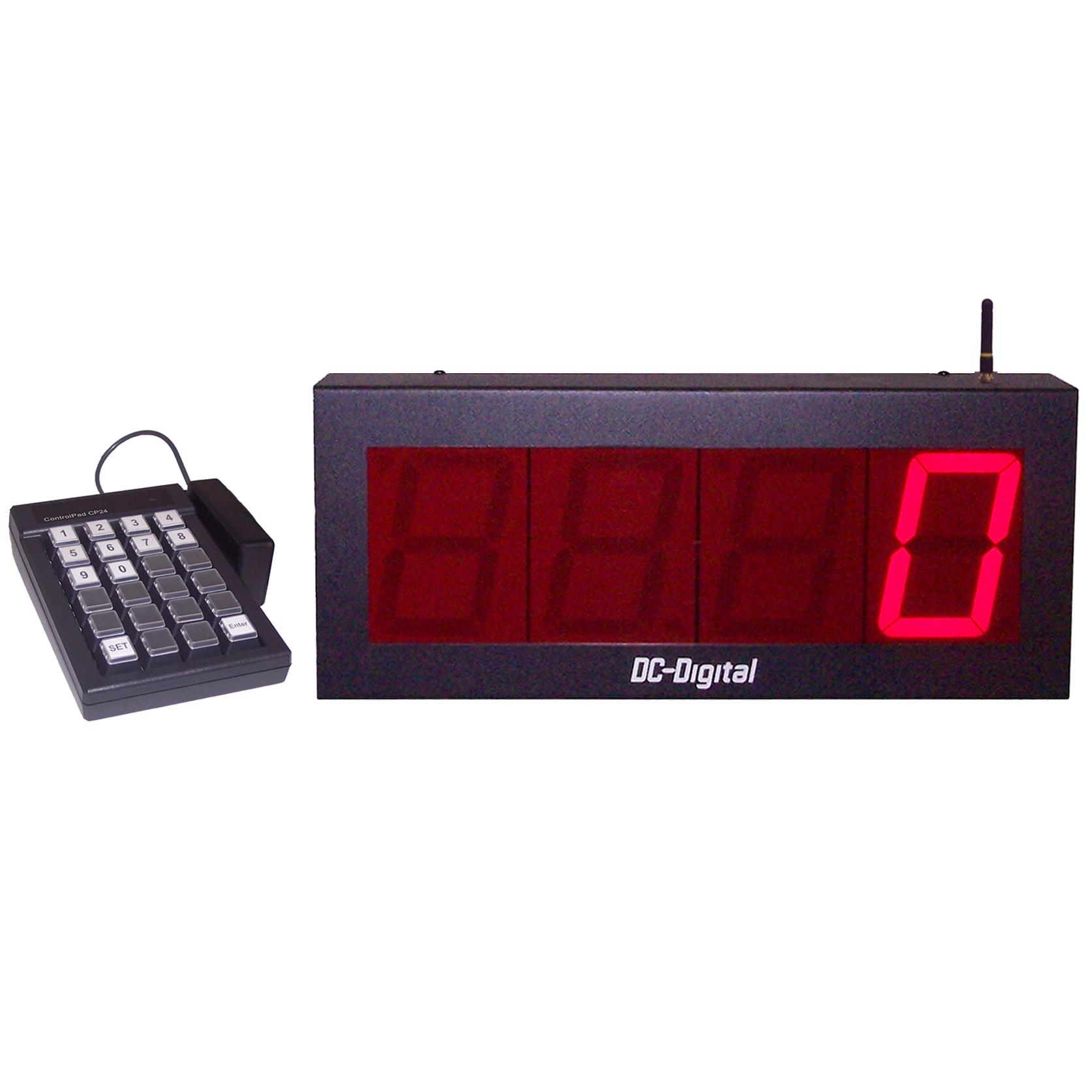 DC-40-Static-Key-W-Wireless-Keypad-Controlled-Static-Number-Display-4-inch-Digits