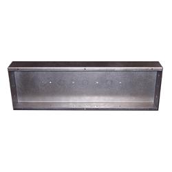 (DC-406-BB) 16 Ga. Steel Rough-In Back Box for DC-406 flush mount Timers, Clocks