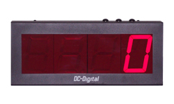 (DC-40C) 4.0 Inch LED Electronic Digital Counter with Top Mounted Environmentally Sealed Push-Button Controls