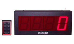 (DC-40C-W) 4.0 Inch LED Digital, RF Wireless Handheld Controlled, Counter