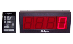 (DC-40C-Term-Key-Pace) 4.0 Inch LED Digital Production Pace Timer-Counter with 24 Keypad Programmer and Controller