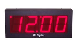 (DC-40N-WIFI) WIFI Network Sync., Digital Clock, 4 Inch Digits,(DC-40N-WIFI) WIFI Network Sync., Digital Clock, 4 Inch Digits