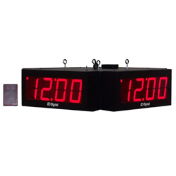 DC-40S-W-Quad-4-Inch-Digit-RF-Wireless-Time-Of-Day-Clock