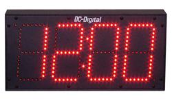 DC-60-4W-System-4-Wire-Sync-Clock-4-Inch-Digit