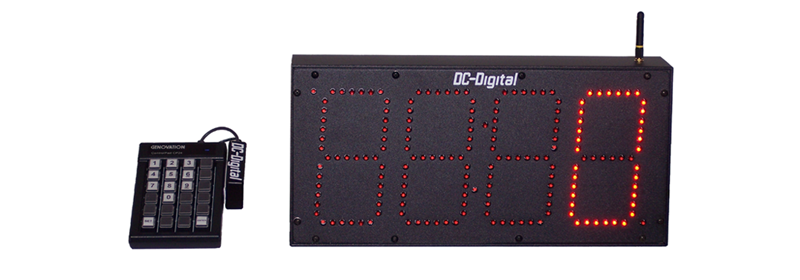 DC-60-Static-Key-W-Wireless-Keypad-Controlled-Number-Display-6-Inch-Digits-HP