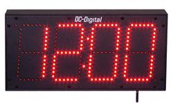 Wireless Digital Clock 6 Inch Digit